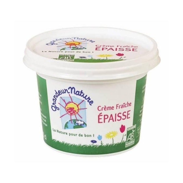 CREME FRAICHE EPAISSE 32%MG 20cl - GRANDEUR NATURE / CANOPY