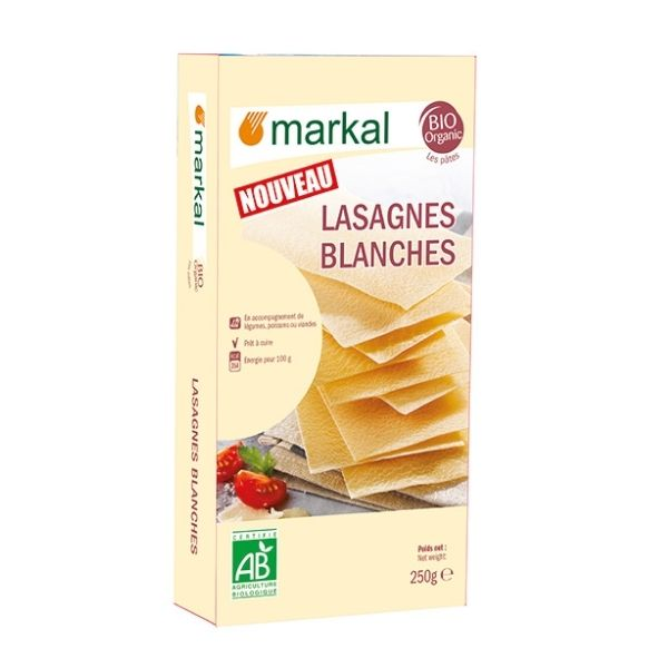 LASAGNES BLANCHES 250g - MARKAL / CANOPY