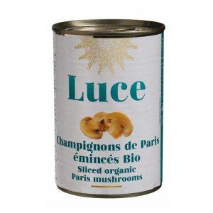 CHAMPIGNONS DE PARIS EMINCÉS 400g - LUCE / CANOPY