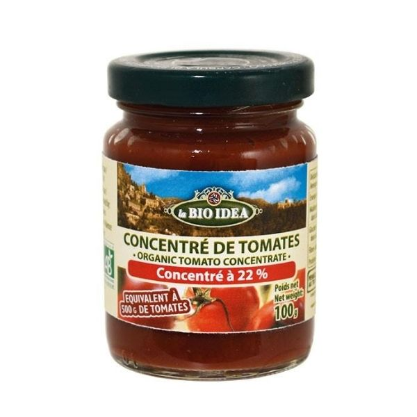 CONCENTRE DE TOMATES 22% 100g - BIO IDEA / CANOPY