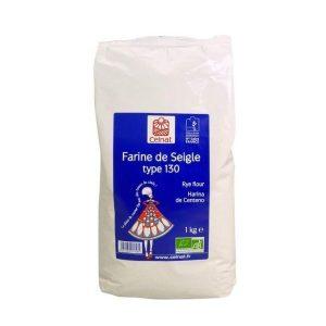 FARINE DE SEIGLE T130 1Kg - CELNAT / CANOPY