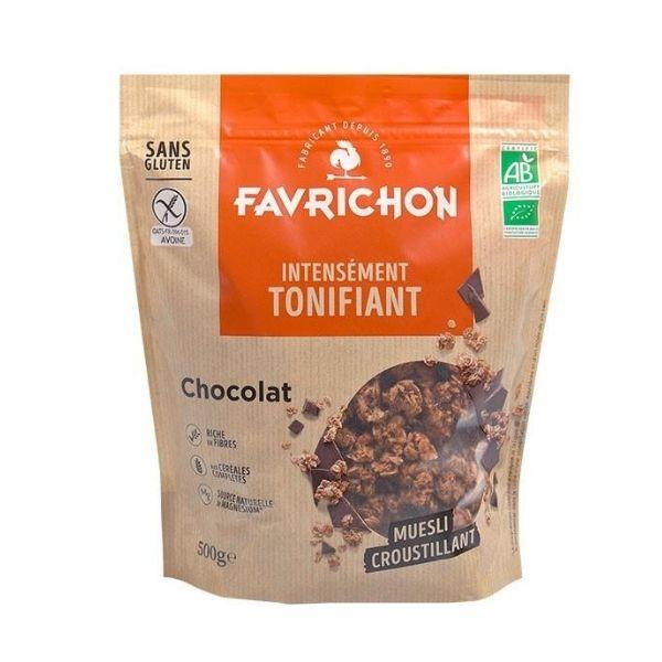 MUESLI CROUSTILLANT CHOCOLAT 500g - FAVRICHON / CANOPY