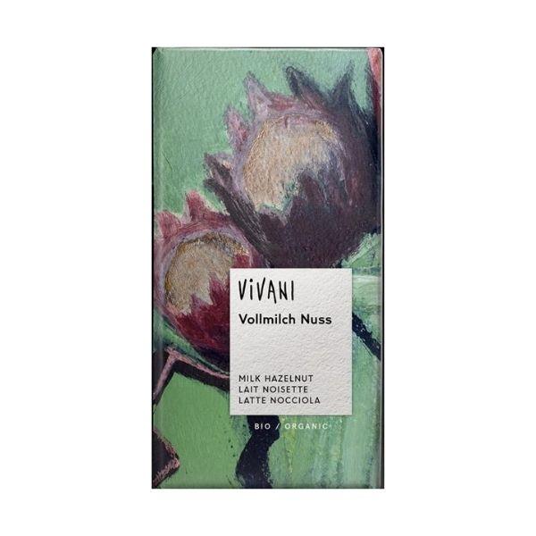 CHOCOLAT LAIT NOISETTES 100G - VIVANI / CANOPY