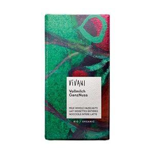 CHOCOLAT AU LAIT NOISETTES ENTIÈRES 100g - VIVANI / CANOPY