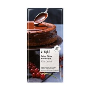 CHOCOLAT NOIR DESSERT 70% CACAO 200g - VIVANI / CANOPY