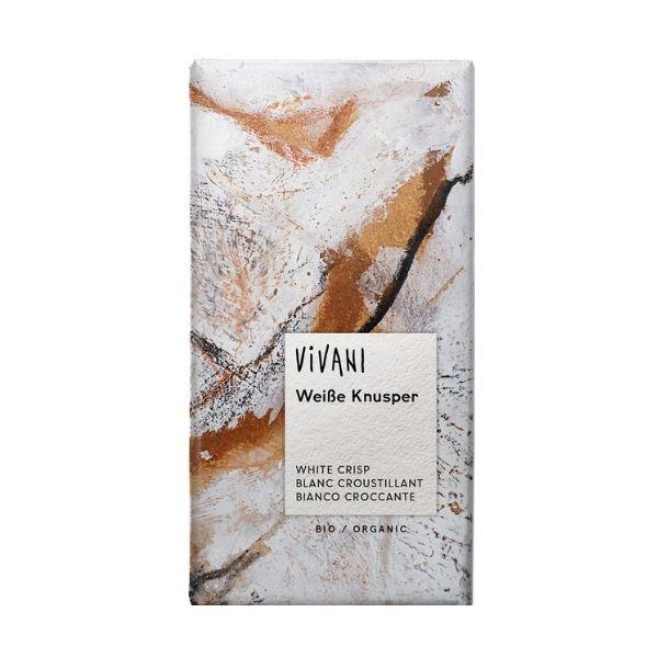 CHOCOLAT BLANC CROUSTILLANT 100g - VIVANI / CANOPY