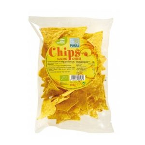 CHIPS NACHO CHEESE 125G - PURAL / CANOPY
