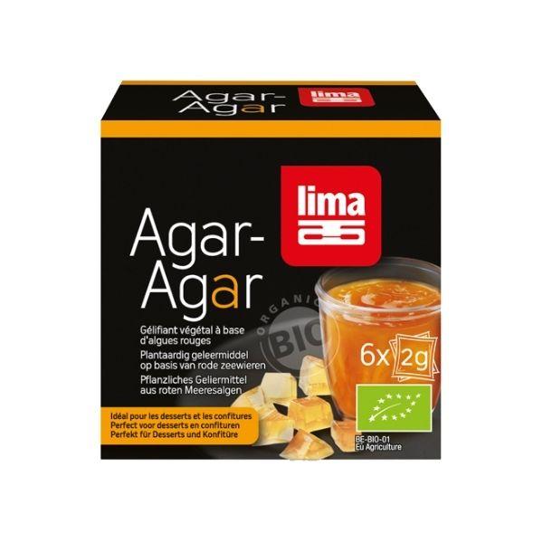 AGAR AGAR BIO 6X2g LIMA / CANOPY