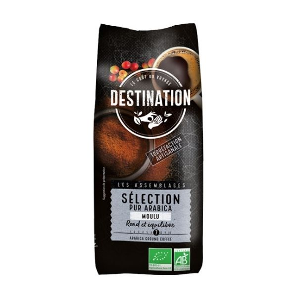CAFÉ SELECTION 100% ARABICA MOULU 500g - DESTINATION / CANOPY