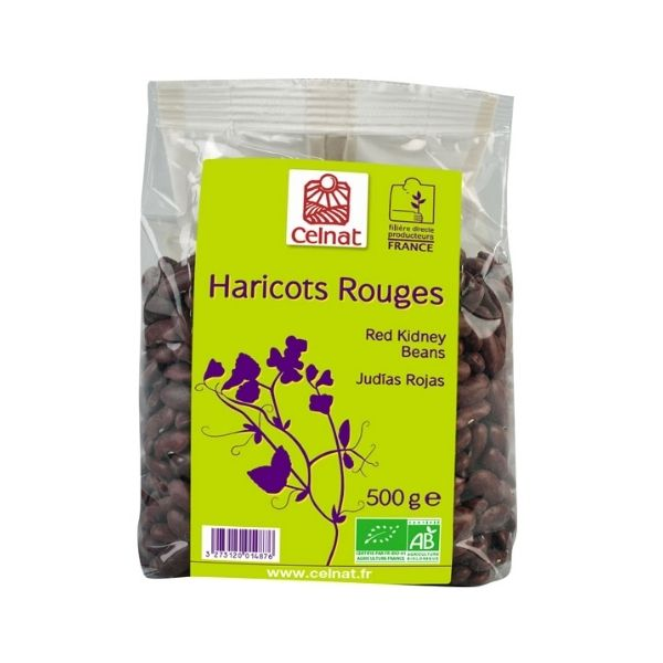 HARICOTS ROUGES 500G - CELNAT / CANOPY