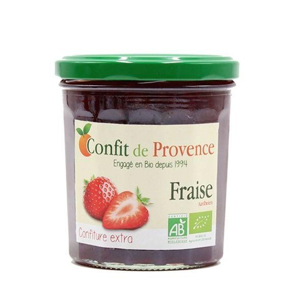 CONFITURE FRAISES 370g - CONFIT DE PROVENCE / CANOPY