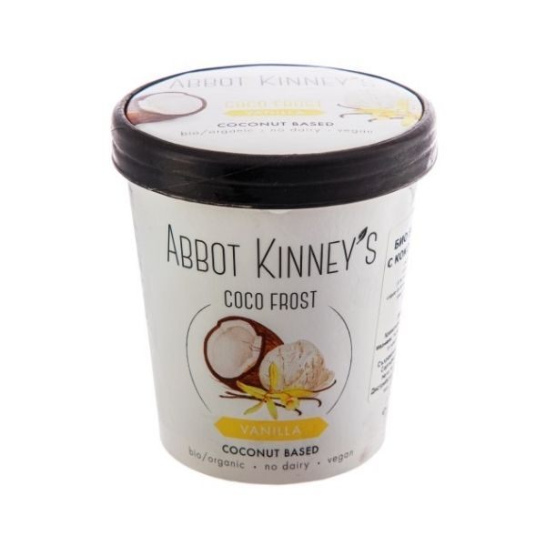 GLACE COCO FROST VANILLE 500ml - ABBOT KINNEY'S / CANOPY