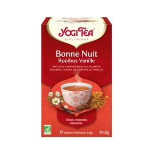 BONNE NUIT ROOÏBOS VANILLE X17 - YOGI TEA / CANOPY