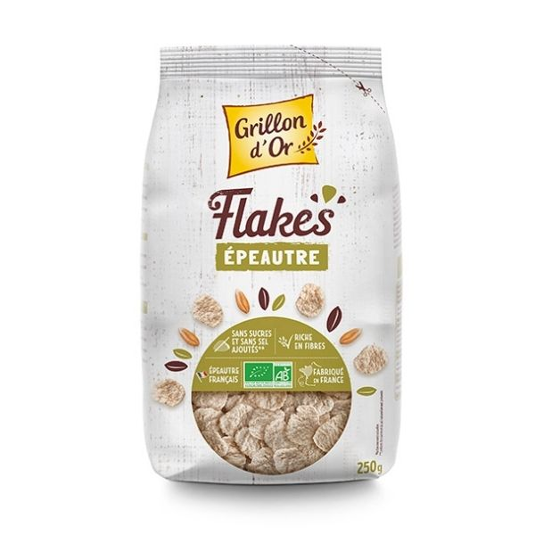 FLAKES D'EPEAUTRE 250g - GRILLON D'OR / CANOPY