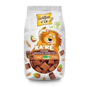 KA'RE FOURRÉ CHOCOLAT NOISETTE 500g - GRILLON D'OR / CANOPY