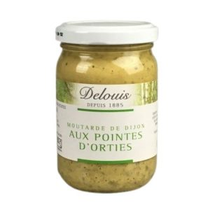 MOUTARDE POINTES D'ORTIES 200g - DELOUIS / CANOPY