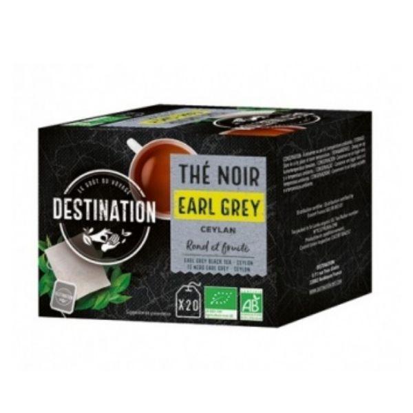 THÉ NOIR EARL GREY CEYLAN X20 - DESTINATION / CANOPY