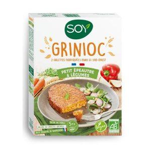 GRINIOC Petit épeautre & Légumes 2x100g - SOY / CANOPY