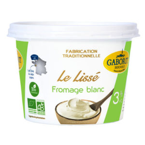 FROMAGE BLANC 3% MG LISSE 500G - GABORIT