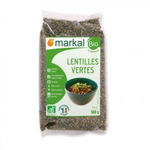 LENTILLES VERTES 500G FRANCE - MARKAL