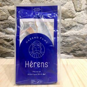 FILETS DE HARENG FUMÉS DOUX 200GR - HERENS