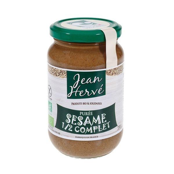 PURÉE SESAME 1/2 COMPLET 350g - JEAN HERVÉ / CANOPY