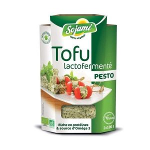 TOFU LACTO AU PESTO 200g - SOJAMI / CANOPY