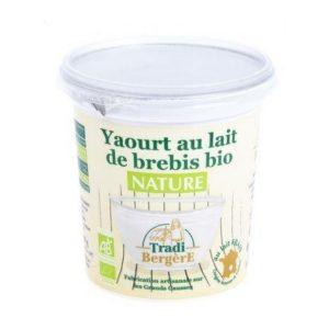 YAOURT BREBIS NATURE AU LAIT ENTIER 400g - TRADI-BERGERE / CANOPY