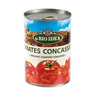 TOMATES CONCASSÉES 400g - BIO IDEA / CANOPY