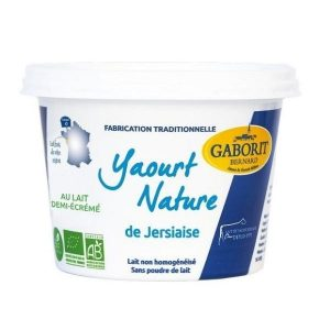 YAOURT NATURE DEMI-ÉCRÉMÉ 500g - GABORIT / CANOPY