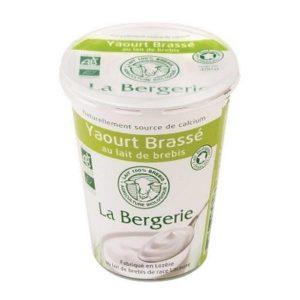YAOURT BREBIS BRASSÉ NATURE 400g - LA BERGERIE / CANOPY