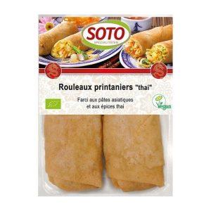 ROULEAUX DE PRINTEMPS THAÏ 220g - SOTO / CANOPY