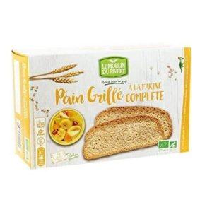 PAIN GRILLÉ À LA FARINE COMPLÈTE 250g - PIVERT / CANOPY