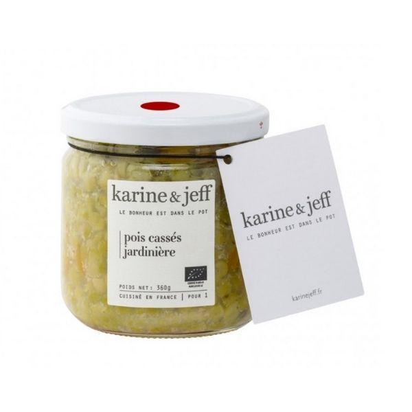 POIS CASSÉS JARDINIERE 360g KARINE et JEFF / CANOPY