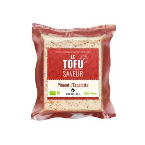 TOFU PIMENT D'ESPELETTE 180g - LOCADELICE / CANOPY