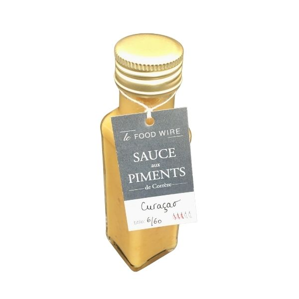 SAUCE PIMENTS CURAÇAO 100ml - FOOD WIRE / CANOPY