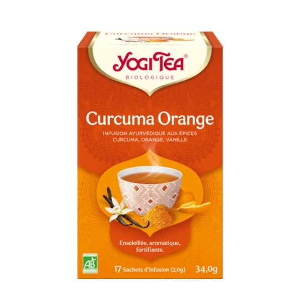 CURCUMA ORANGE X17- YOGI TEA / CANOPY