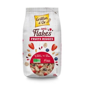 FLAKES FRUITS ROUGES 375g - GRILLON D OR / CANOPY
