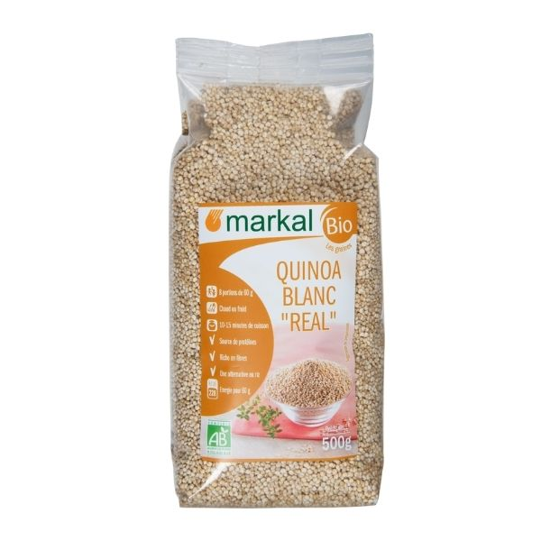 QUINOA REAL BLANCHE 500g - MARKAL / CANOPY