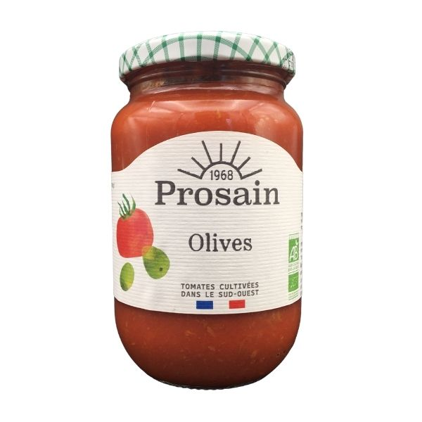 SAUCE TOMATE AUX OLIVES 370g - PROSAIN / CANOPY