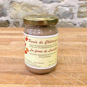 PURÉE DE CHÂTAIGNES sans sucre 230g -  LA FERME de LOUISOTTE
