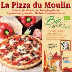 PIZZA Légumes Grillés Gorgonzola 380g - PIZZA DU MOULIN