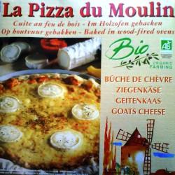 PIZZA FROMAGE DE CHÈVRE 360g - PIZZA DU MOULIN
