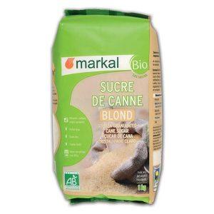SUCRE BLOND DE CANNE 1KG - MARKAL