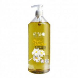 Shampooing Douche FLEURS BLANCHES 1L - CE' BIO