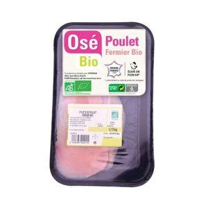 FILETS DE POULET (400gr environ) - OSE BIO - 34,80€ /KG