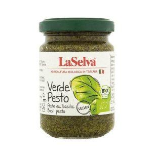 PESTO BASILIC SANS AIL 130g - LA SELVA / CANOPY