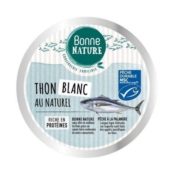 THON BLANC GERMON MSC AU NATUREL 160g - BONNE NATURE / CANOPY