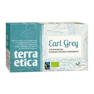 THÉ EARL GREY X20 INFUSETTES 36g - TERRA ETICA /CANOPY