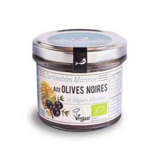 TAPENADE MARINE ALGUES & OLIVES NOIRES 90g - MARINOË / CANOPY